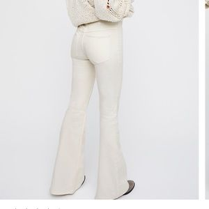 Free People Penny Pull-On Flare Jeans